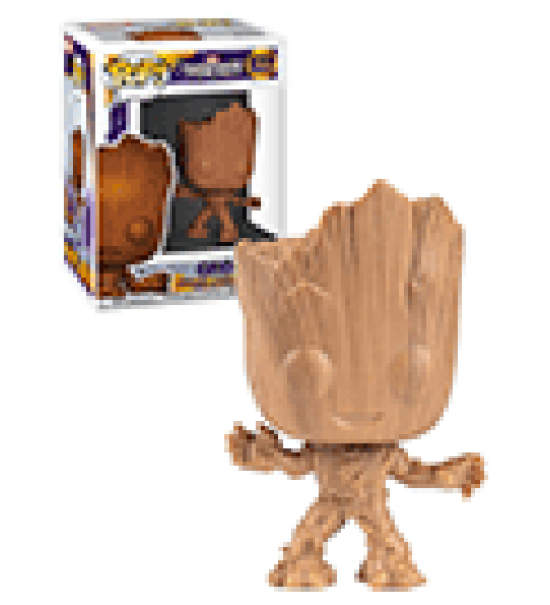 Funko pop ! guardians of the galaxy groot (wood excl) (622)