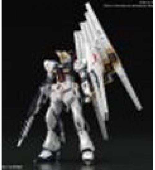 Model kit gunpla - gundam rg gundam nu 1/144