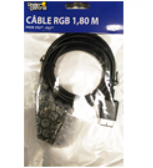 Cavo scart rgb ps1/ps2/ps3 f&g
