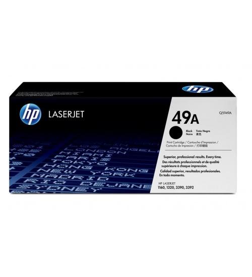 Hp 49a black laserjet toner