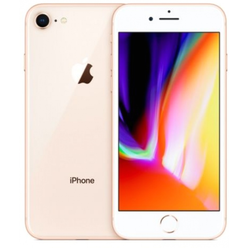 Iphone 8 256gb ricondiz. gold grado a - garanzia 1y/ 3 mesi batt