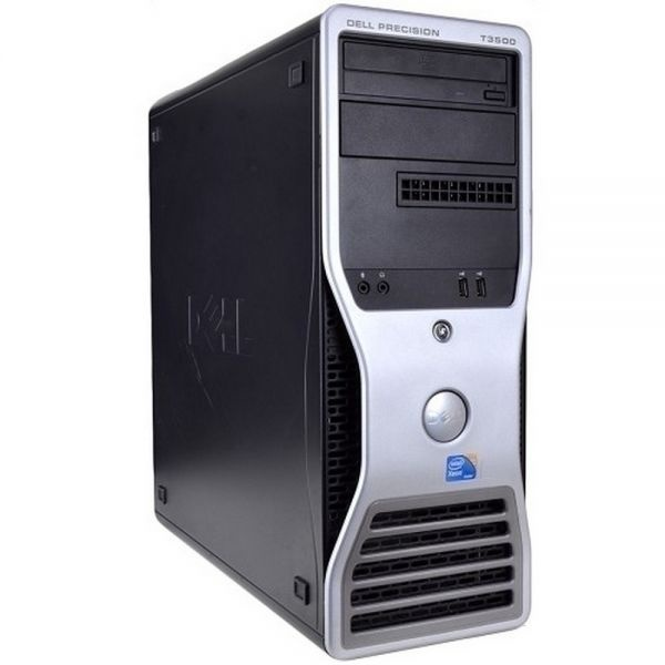 Workstation refurbished w3680/12gb/1tb nvq  w10p dell precision t3500 quadro 1gb