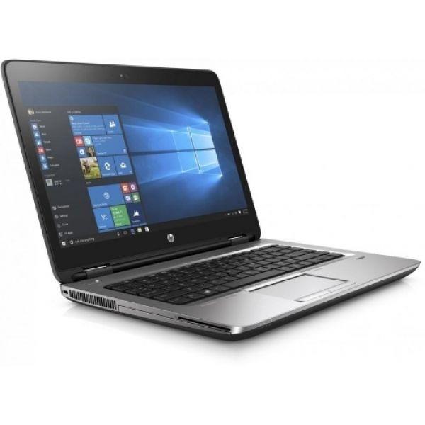 Notebook refurbished a6 14 8gb 128ssd m2 w10p a6-8530b  probook 645 g3 webcam