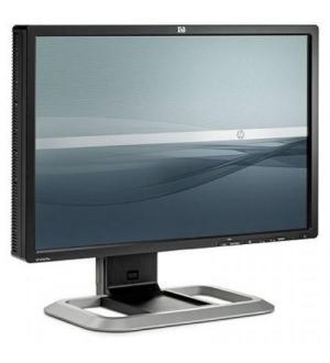 Monitor 24 refurbished hp la2475wg 16/10 lcd lcd vga, dvi-d e displayport
