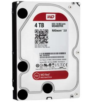 Hard Disk 3,5 4tb wd sata red nas intelli power 64mb 6gb/s nas storage