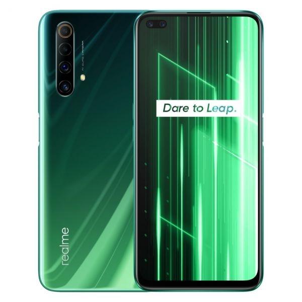 Sm realme x50 5g green 6,57 6+128gb ita