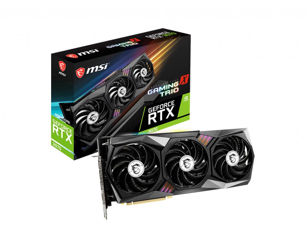 Msi rtx 3070 gaming x trio
