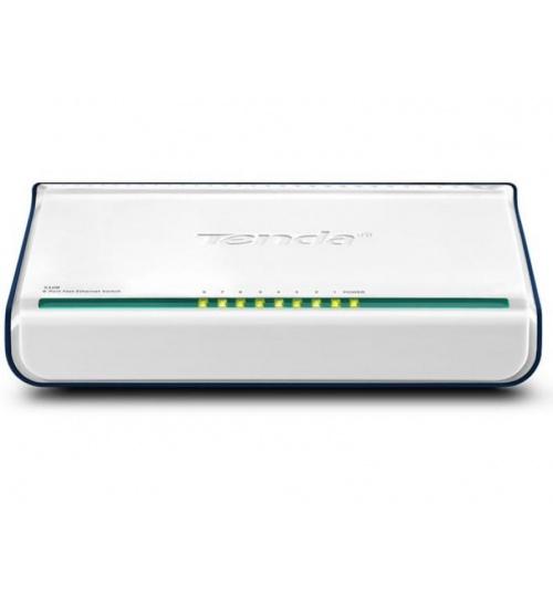 Switch 8p 10/100m fast ethernet 8x10/100m rj48 ports