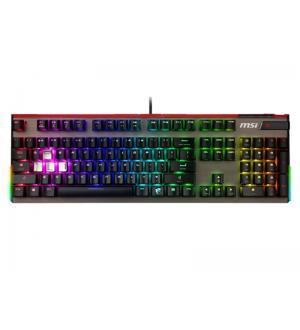 Tastiera gaming vigor gk80 black meccanica red illuminazione rgb