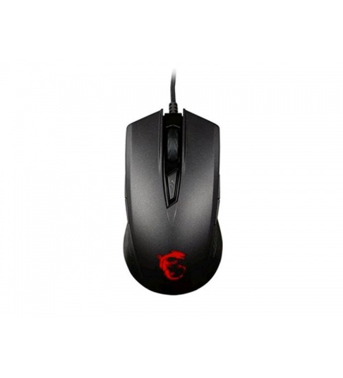 Mouse gaming clutch gm40 black usb con filo 3600dpi 9 tasti