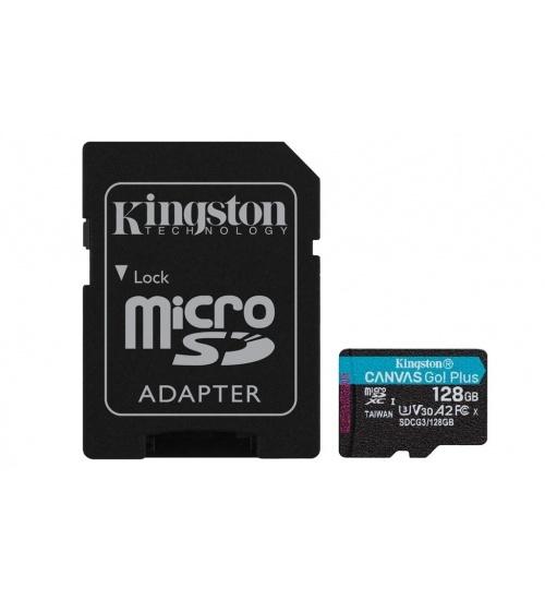 Kt 128gb msdxc goplus u3 + adp