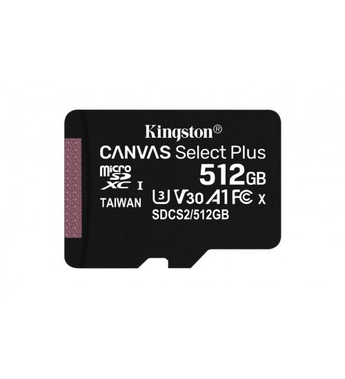 Kt 512gb msdxc 100r a1 + adp