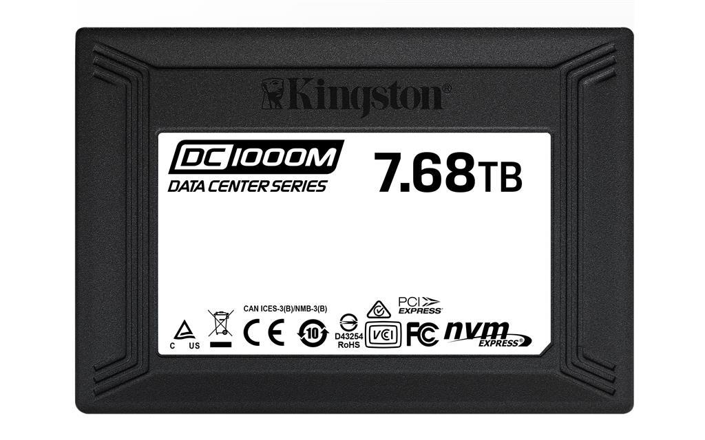 Kingston ssd 7.68tb dc1000m u2