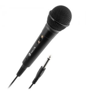 Ngs microfono singer fire ideale per karaoke 3m cavo 8435430611038