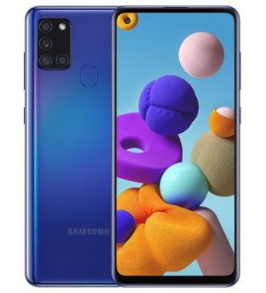Smartphone samsung galaxy a21s 6,5 blue 32gb+3gb dual sim ita
