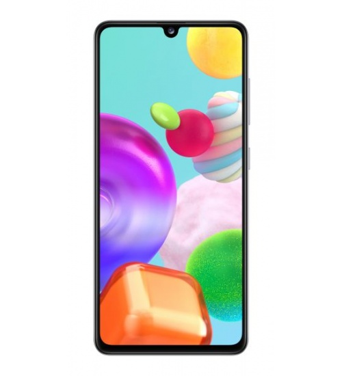Smartphone samsung galaxy a41 6,1 white 64gb+4gb dual sim ita