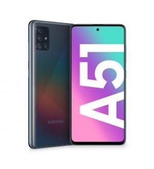 Smartphone samsung galaxy a51 6,5 black 128gb+4gb dual sim operatore