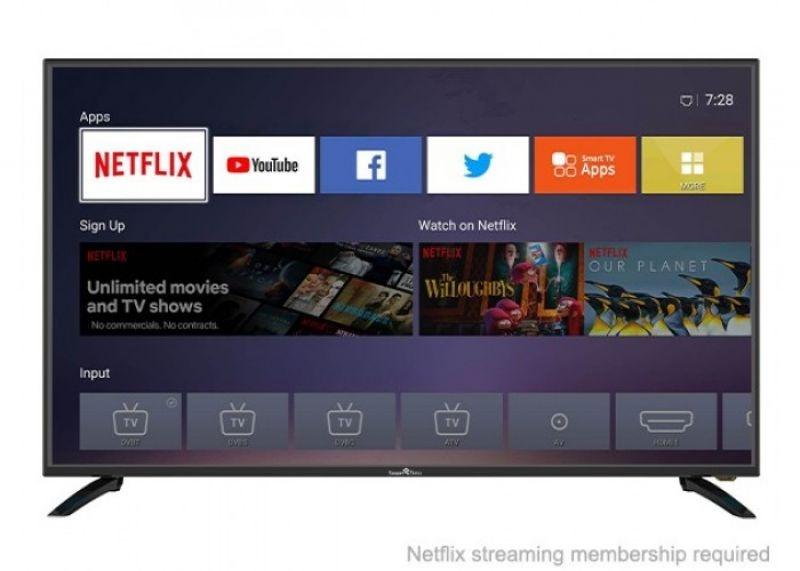 Tv 39,5 smartech fhd smart linux dvb t2/c/s- 3x hdmi,h265