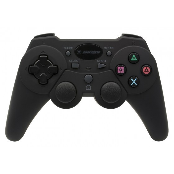 Snakebyte game controller bluetooth per ps3 - black