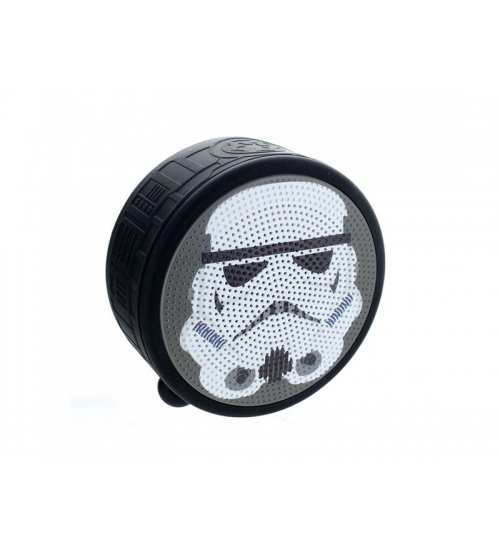 Speaker bluetooth trooper marvel rechargeable battery - 3-4 hours