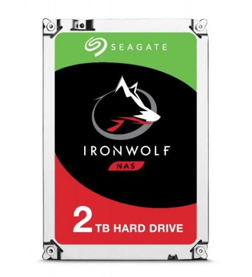 Hard Disk 3,5 2tb 5900rpm 64mb ironwolf sata3 seagate