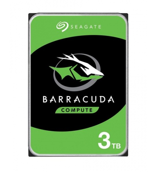 Hard Disk 3,5 3tb 5400rpm 256mb barracuda sata3 seagate
