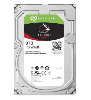 Hard disk seagate ironwolf 3.5 sata3 8tb 256mb nas