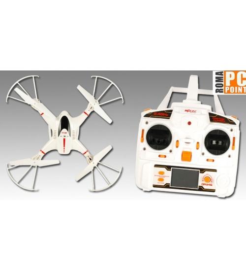 Quadricottero 4ch giroscopio 6 assi headless/key return flip360 white