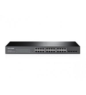 Switch 24p gigabit + 4 combo sfp sl ots tp-link