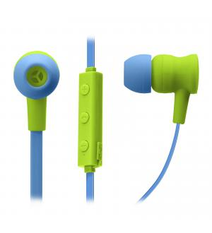 Auricolari wireless v 5.0 con microfono integrato, tasti di risposta/fine chiamata, regolazione volume e cambio traccia, colore verde