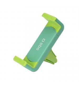 Supporto da auto con clip per bocchette d'areazione con apertura fino a 70mm, colore verde