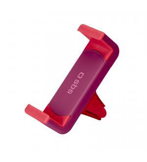 Supporto da auto con clip per bocchette d'areazione con apertura fino a 70mm, colore rosso