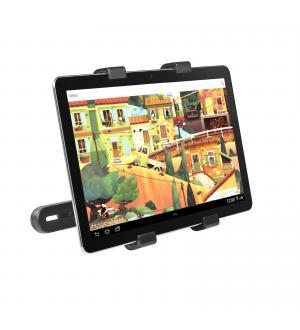 Supporto tablet per poggiatesta, con braccio orientabile e rotazione a 360°