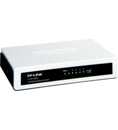 Switch 5p lan 10/100m tp-link tl-sf1005d desktop