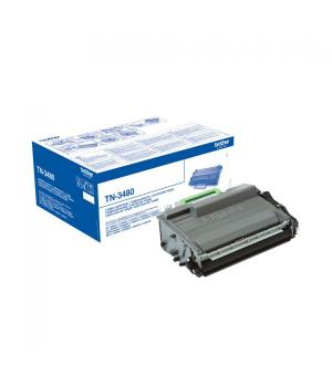 Toner brother tn3480 nero per hl l5000d 8.000pg
