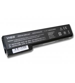 Batteria notebook hp 10.8v 6celle 4400mah black