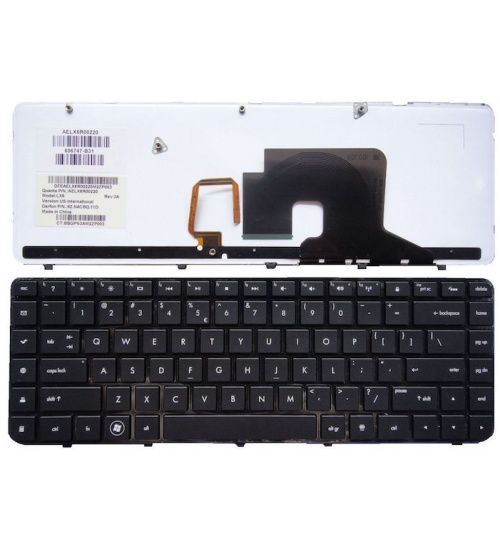 Tastiera notebook hp dv6-3000 black