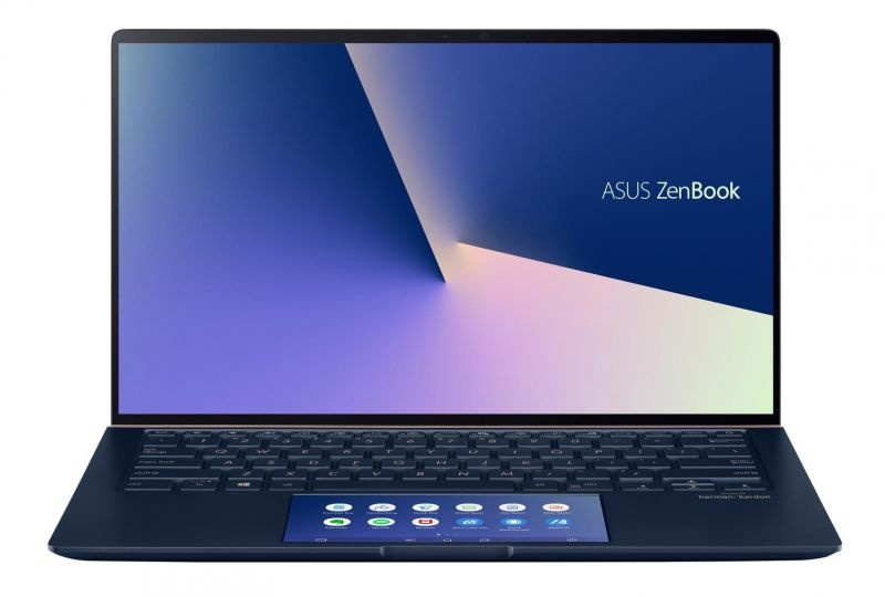 Notebook 14 i7-10510 16gb 512ssd w10 vga asus zenbook ux434fl geforce mx250