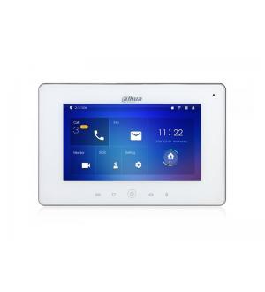 Videocitofono unitÀ, interna 7 touch plastica wifi ip bianco