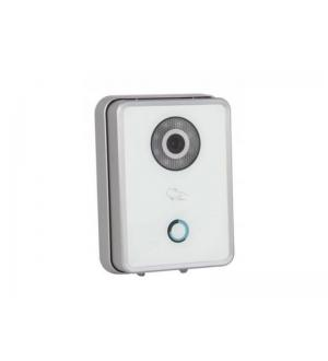Videocitofono unitÀ, esterna 1,3mpx 3,6mm vetro temp. ip bianco