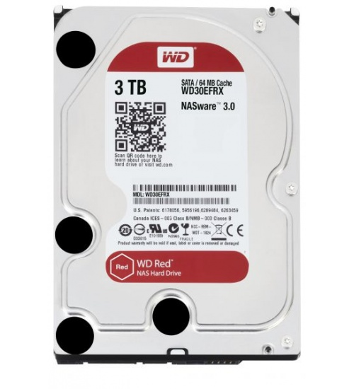 Hard Disk 3,5 3tb 5400rpm 64mb sata3 red wd red nas storage