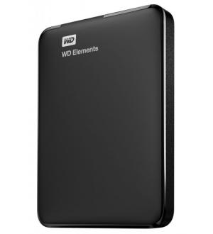 Hd ext 2,5 2tb wd elements usb3 new nero portable