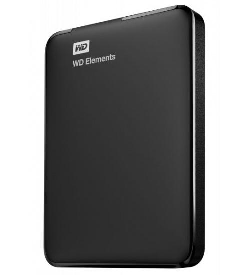 Hd ext 2,5 1tb wd elements usb3 new nero portable