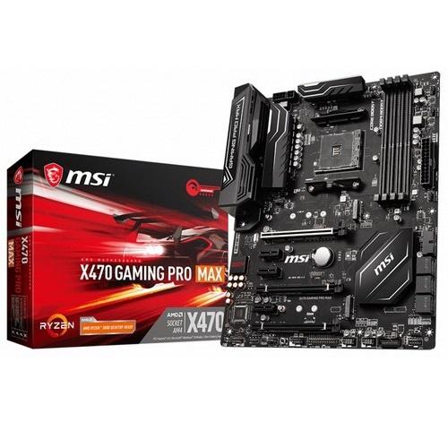 Scheda Madre msi x470 gaming pro max amd ryzen 1a, 2a, 3a...