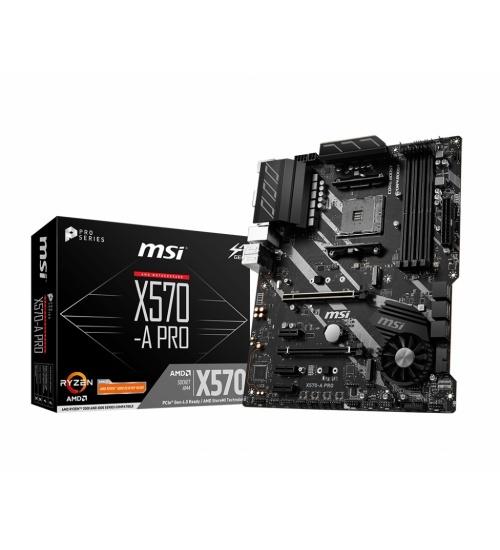 MSI X570-A PRO scheda madre Presa AM4 ATX AMD X570