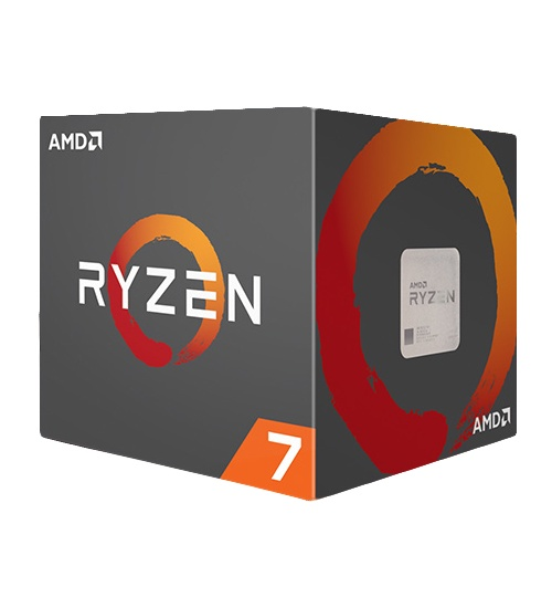 Processore cpu amd ryzen 7 1700 with wraith spire 95w cooler 3.7ghz 20mb 65w am4 box