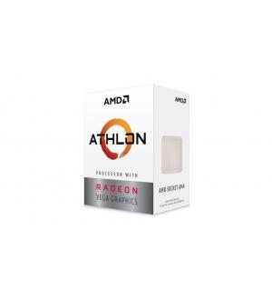 Processore cpu amd athlon 3000g am4 3,5ghz 2core box 4mb 64bit 35w