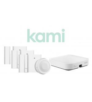 Yi n100 - security starter kit (1x base n10, 3x sensori n20, 1x sensore n30)