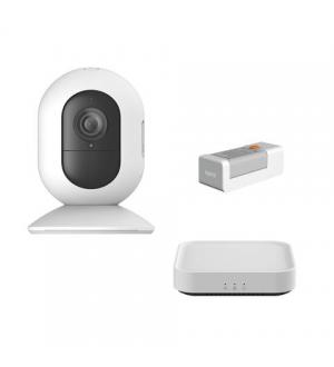 Yi wk101 - security starter kit (1x base n10, 1x camera w101s, 1x carica batteria aw01)