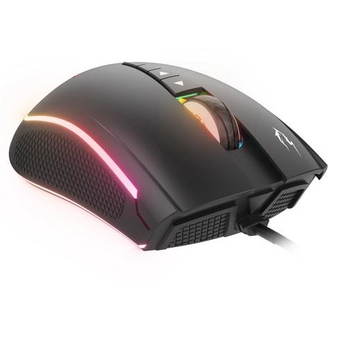 Gamdias mouse gaming zeus m2 + pad ottico usb rgb 10800 dpi 8 keys